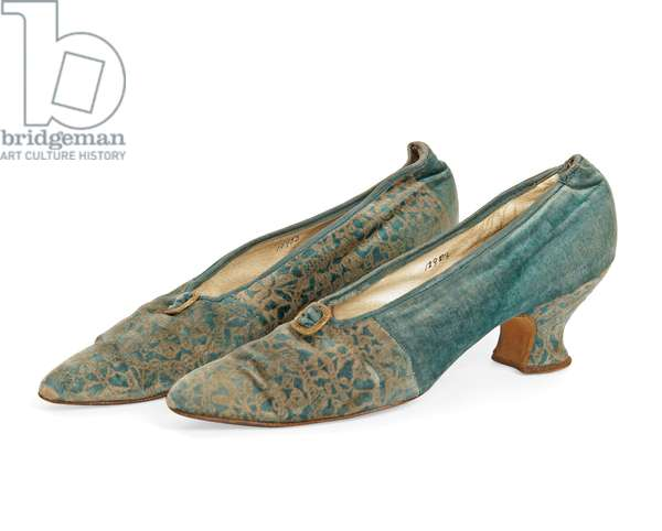 Pair of shoes, Mariano Fortuny, c.1900-20 (photo) (see also 622994)