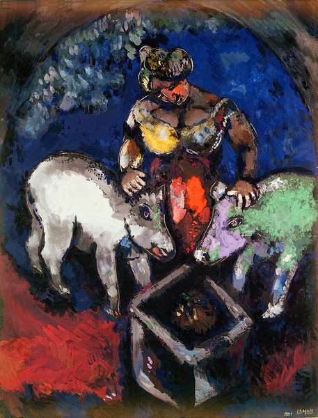 Woman with Pigs, 1926