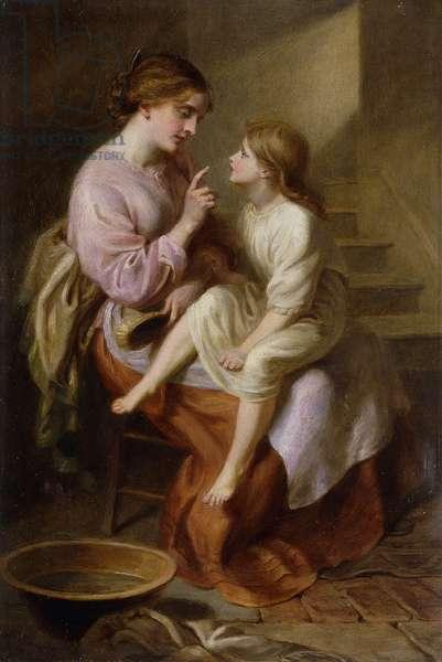 The Fairy Tale,  (oil on canvas)