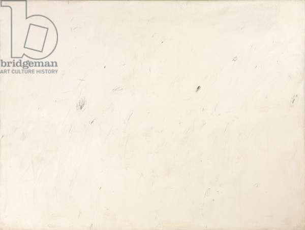 Untitled (Lexington, Virginia), 1959 (oil based house paint, lead pencil and coloured pencil on canvas)
