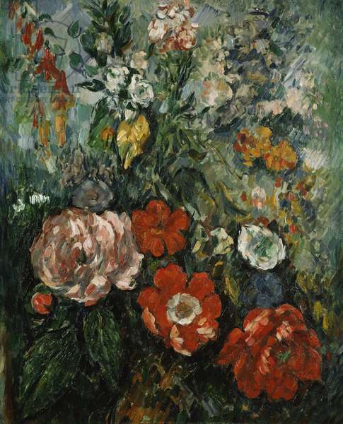 Flowers, c.1879 (oil on canvas)