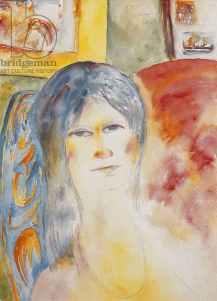 Juliet, 1985 (watercolour and pencil)