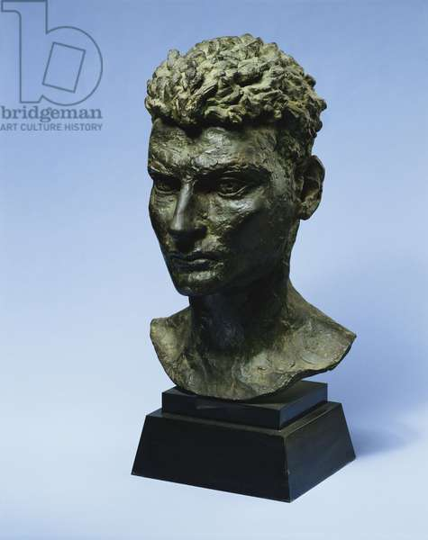 Portrait of Lucian Freud, 1947 (bronze)
