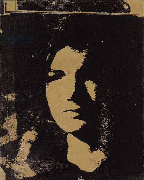 Jackie, 1964 (synthetic polymer paint and silkscreen ink on canvas)