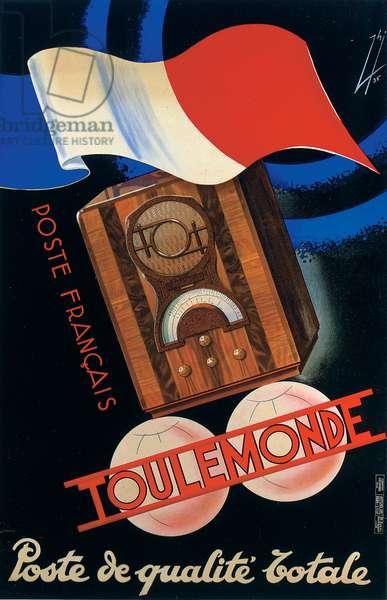 Toulemonde, 1935 (colour litho)