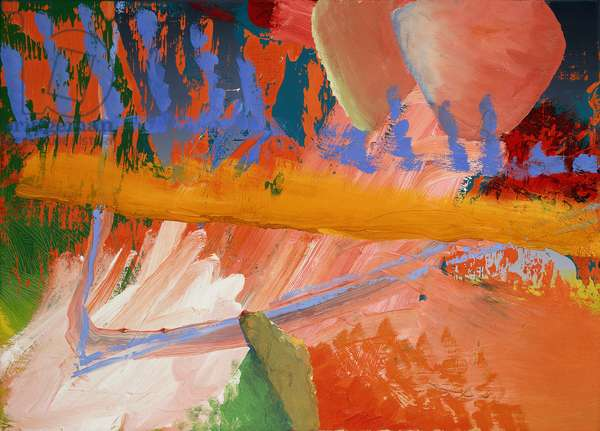 Abstract Image; Abstraktes Bild, 1981 (oil on canvas)