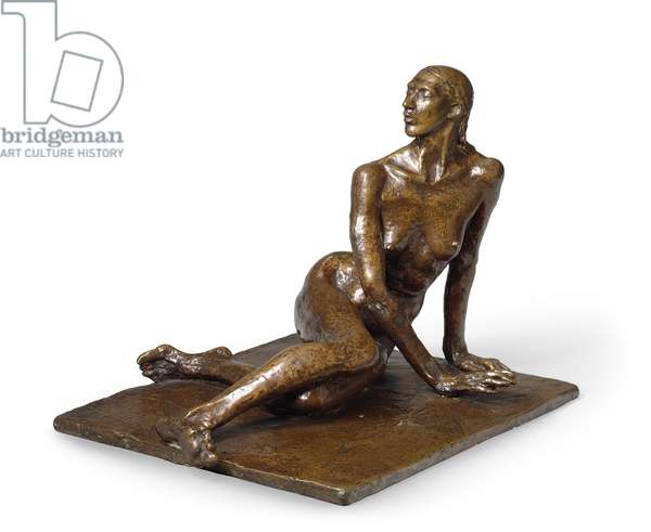 The Dreamer, 1910 (bronze with brown patina)
