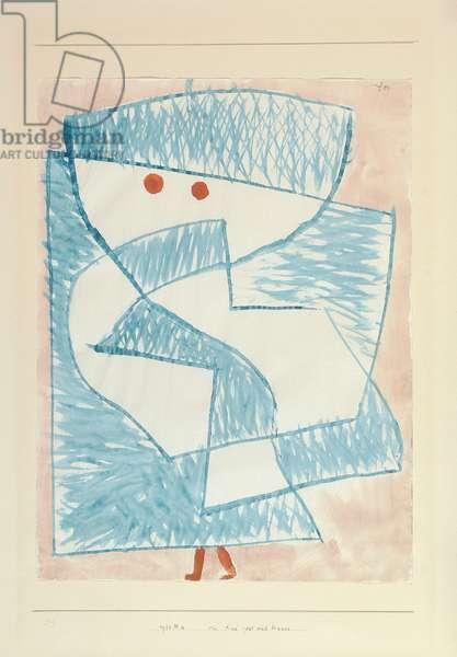 Ein Kind Geht Nach Hause, 1933 (w/c on paper)