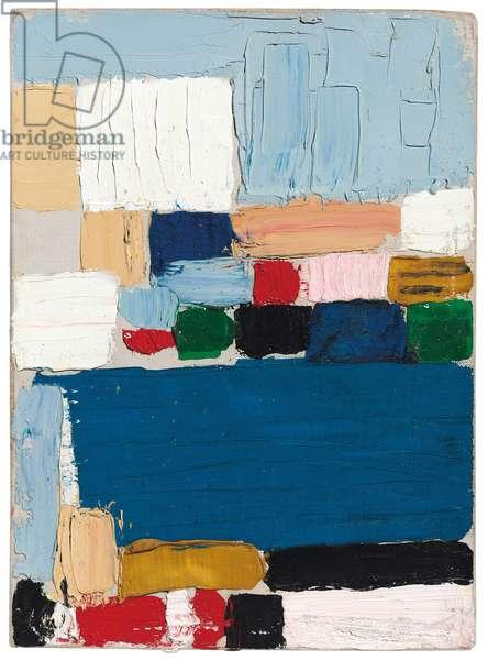Composition - Landscape (Le Castelet), 1953 (oil on canvas)