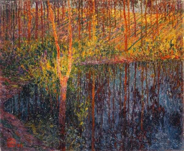 Autumn at Latem; Automne a Latem - Herfst te Latem, 1913 (oil on canvas)