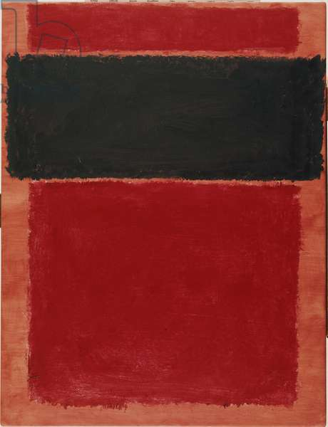 Untitled, 1968 (acrylic on paper mounted panel)