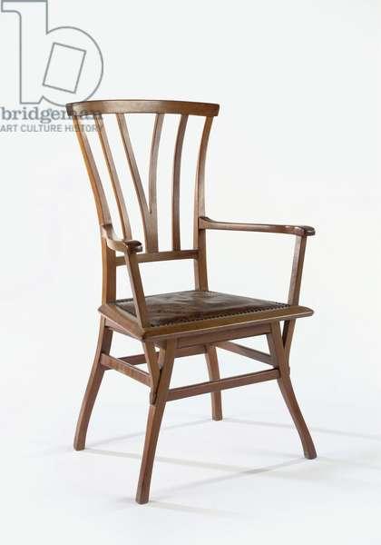 Bloemenwerf armchair, 1894/5 (walnut)