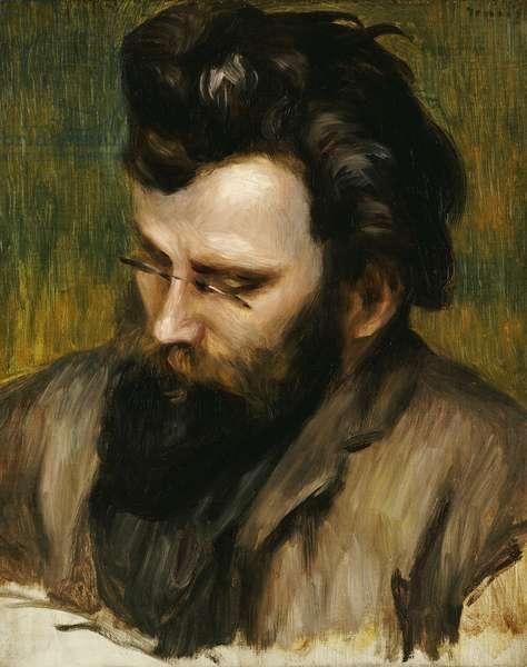 Portrait de Claude Terrasse (oil on canvas)