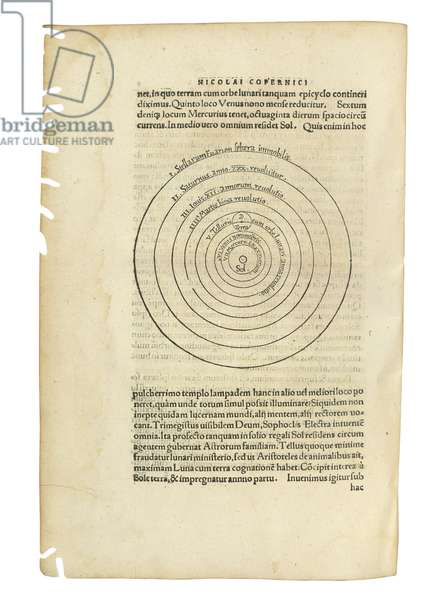 'De Revolutionibus Orbium Coelestium' by Nicolaus Copernicus and 'De Libris Revolutionum Nicolai Copernici Narratio Prima' by Georg Johan Rheticus, two works in one volume, Basel, 1566-67 (see also