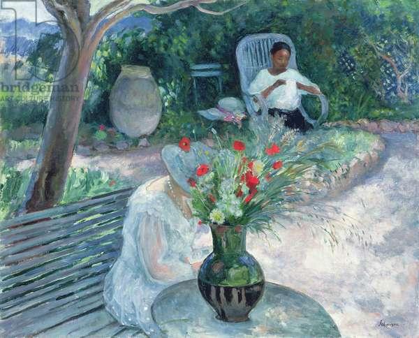 The Garden of Pradet, c.1923 (oil on canvas)