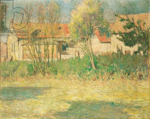 Landscape, c.1905-07 (oil on canvas)