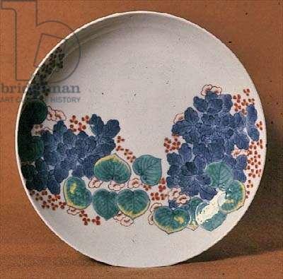 Nabeshima porcelain dish, c.1716-35