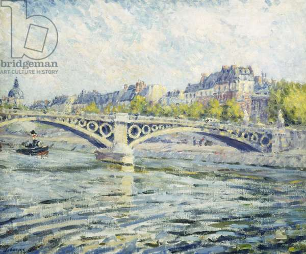 The Seine, Paris; La Seine a Paris, 1904 (oil on canvas)