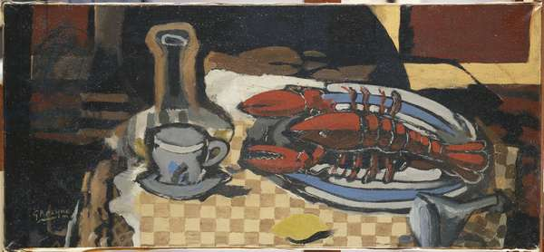 Still Life with Lobster, 1943 (oil on canvas)