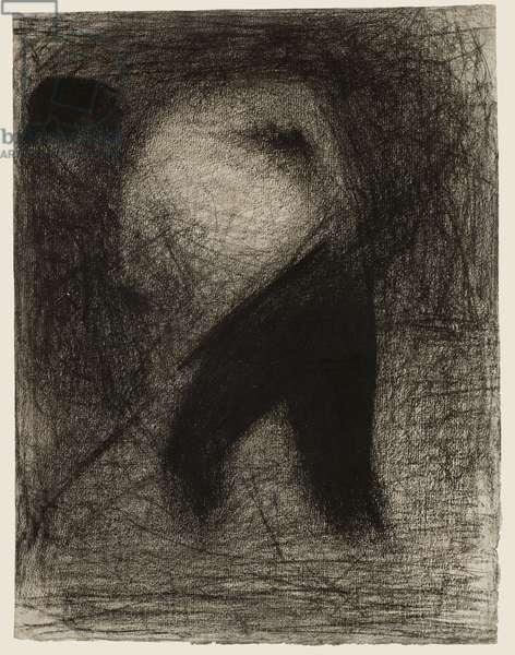 Haymaker or Stone Breaker; Faneur (Casseur de pierres), c.1883 (crayon on paper)