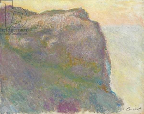 On the Cliff, Petit D'Ailly; Sur la falaise, au Petit Ailly, 1896 (oil on canvas)