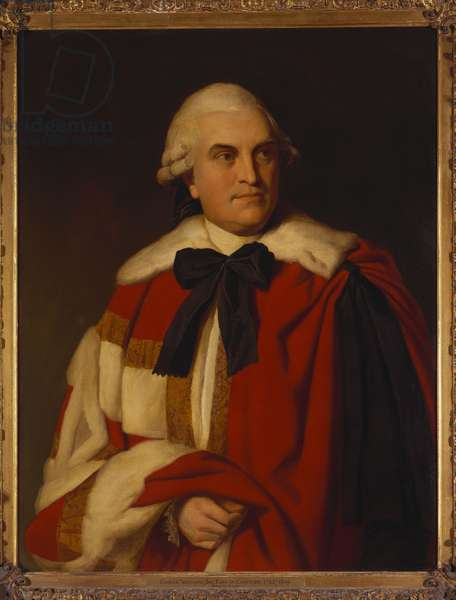 Portrait of George William, 6th Earl of Coventry, in Peer's Robes (oil on canvas)