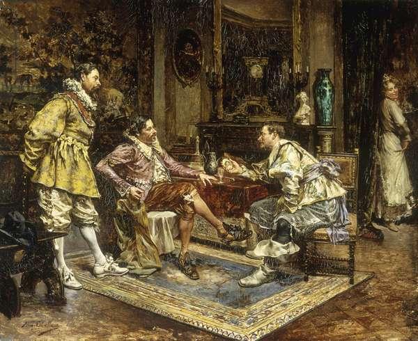 Une Histoire d'Amour, 1901 (oil on canvas)