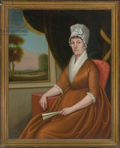 Mrs. Nathaniel (Martha) Ruggles, 1804 (oil on canvas) (pair to 2907482)