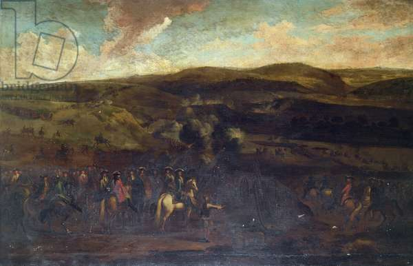 King William III at the Battle of the Boyne, 1st July 1690