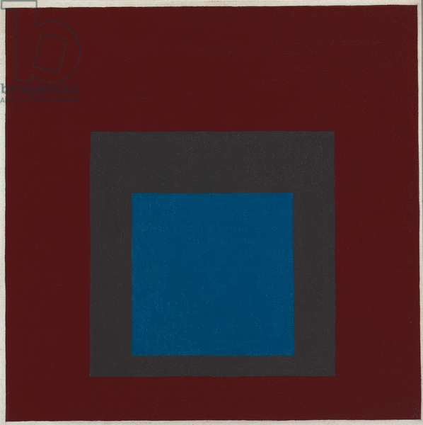Homage to the Square: Single Answer, 1960 (oil on masonite)