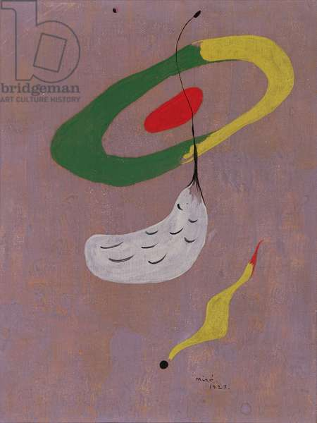 Floating Forms, 1927 (oil on canvas)