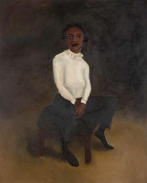 Obelisk, 2005 (oil on canvas)