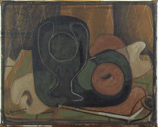 Still Life with a Pipe, c.1931 (oil on canvas)