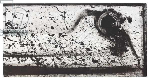 Splattered, 1983 (acrylic on canvas)