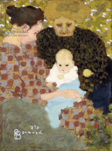 The Three Ages (Maternity), 1893 (oil on canvas)