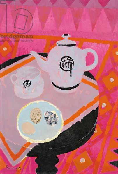 Chinese Teapot, 1989 (oil on canvas)