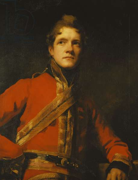 Portrait of Lieut-Colonel Morrison of the 7th Dragoon Guards, Half Length, in Uniform, (oil on canvas)