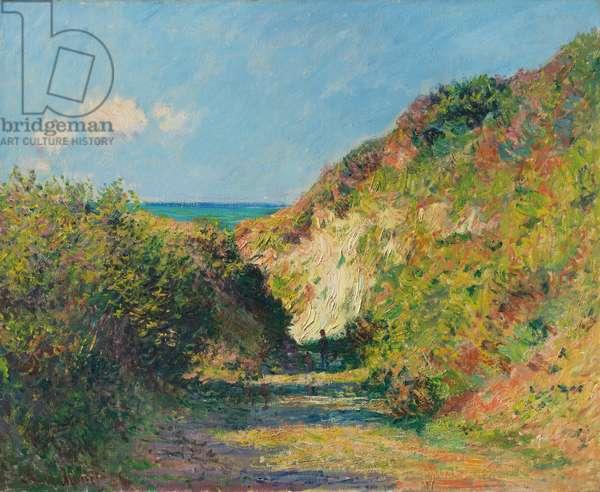 The sunken path, 1882 (oil on canvas)