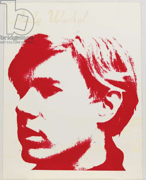 Self-Portrait, 1967 (silkscreen ink on vinyl)