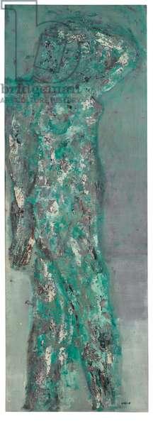 Portrait of Iris Clert, 1961 (oil & lacquer on canvas)
