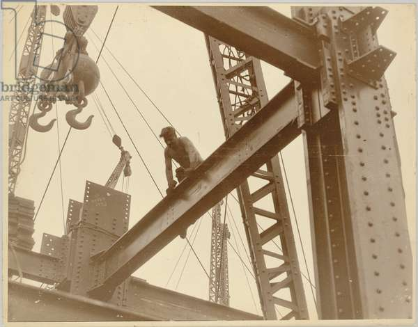 Workers on the Empire State Building, c.1930 (gelatin silver print)