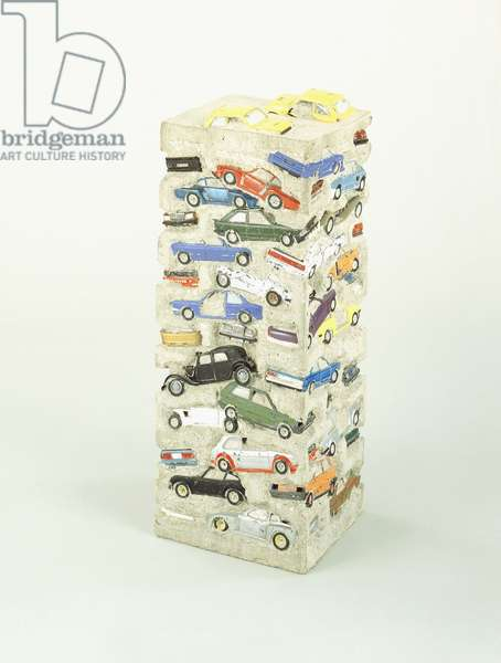 Long Term Parking, 1982 (toy cars in cement)