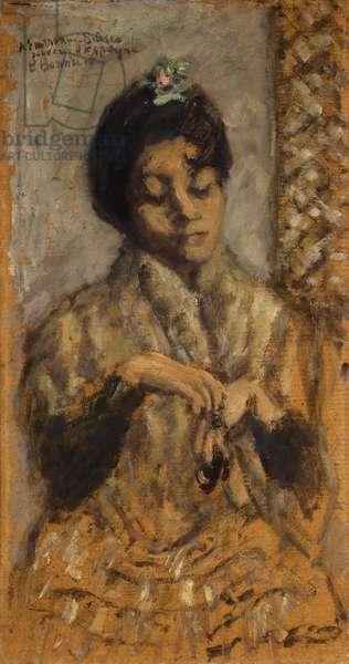 Spanish Dancer; Danseuse Espagnole, 1905 (oil on board)