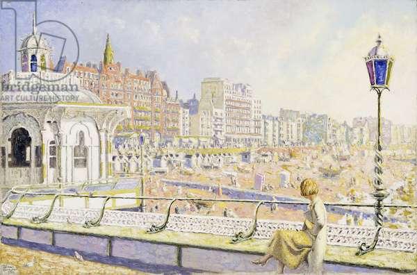 Brighton, 1932 (oil on canvas)