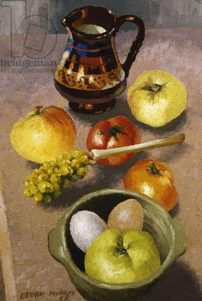 Still Life, (oil on canvas)
