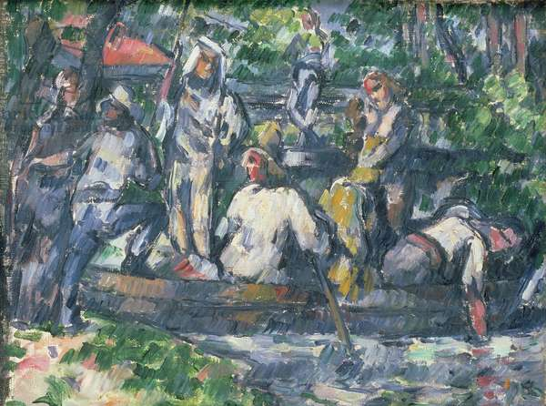 Leaving on the Water, 1879-82 (oil on canvas)