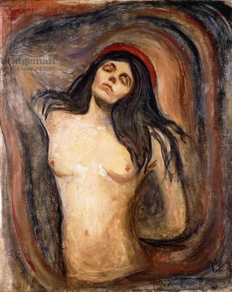 Madonna, 1894-1895 (oil on canvas)