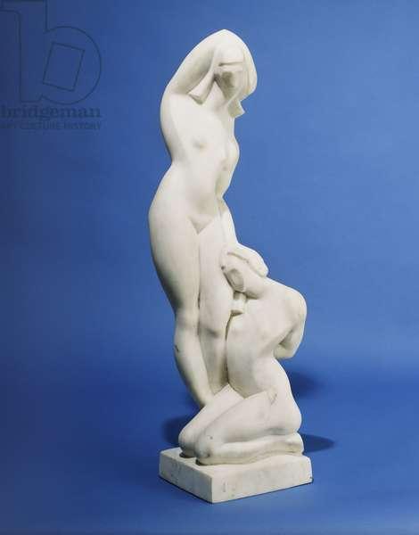 Feminine Solitude, 1921 (white marble)