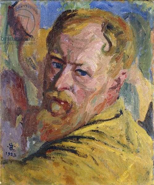 Self portrait, 1923 (oil on canvas)