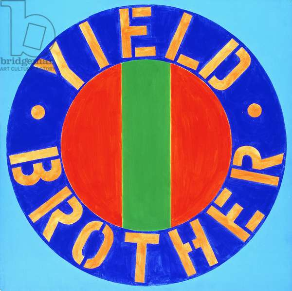 Yield Brother, 1964 (oil on canvas)